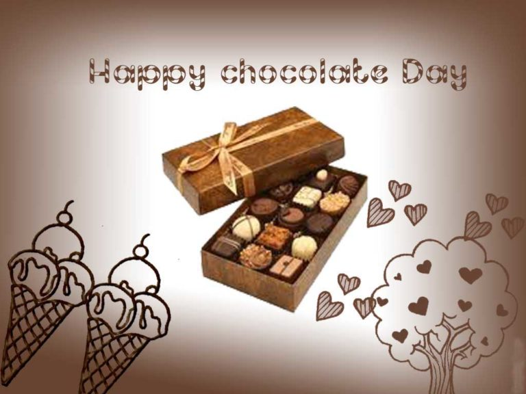 Happy Chocolate day 2017 Whatsapp, Facebook Status, Dp & FB Profile Picture