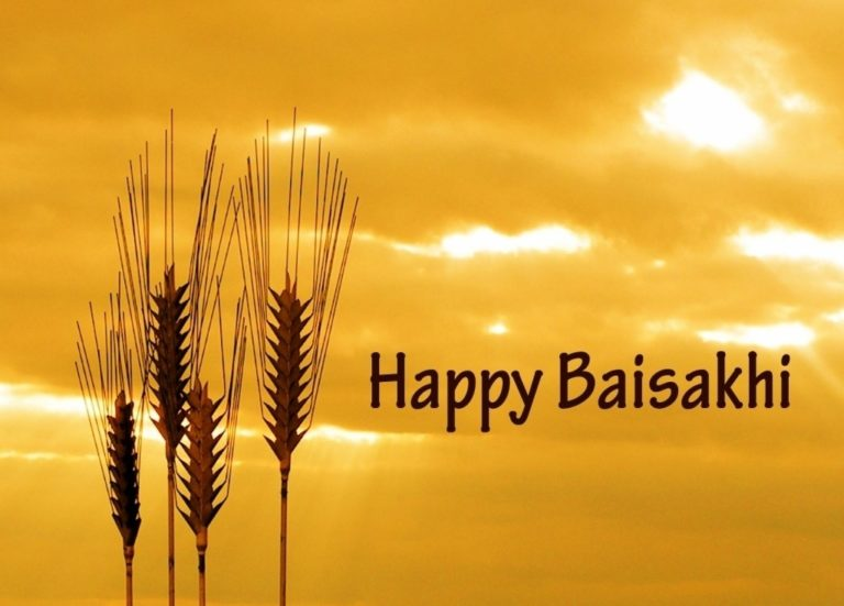 Happy Baisakhi Wishes, Messages & SMS in Punjabi, Hindi & English 2017
