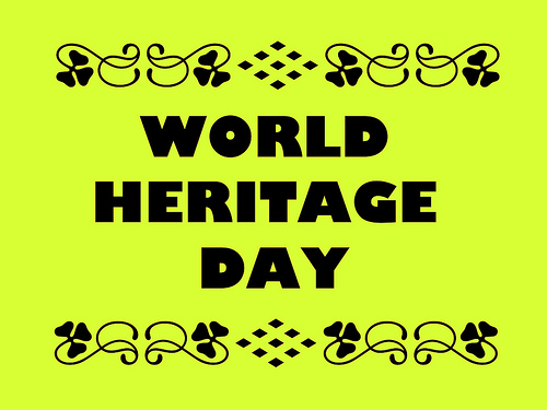 World Heritage Day GIF, Wishes, Whatsapp Status, Message, SMS & Quotes 2017