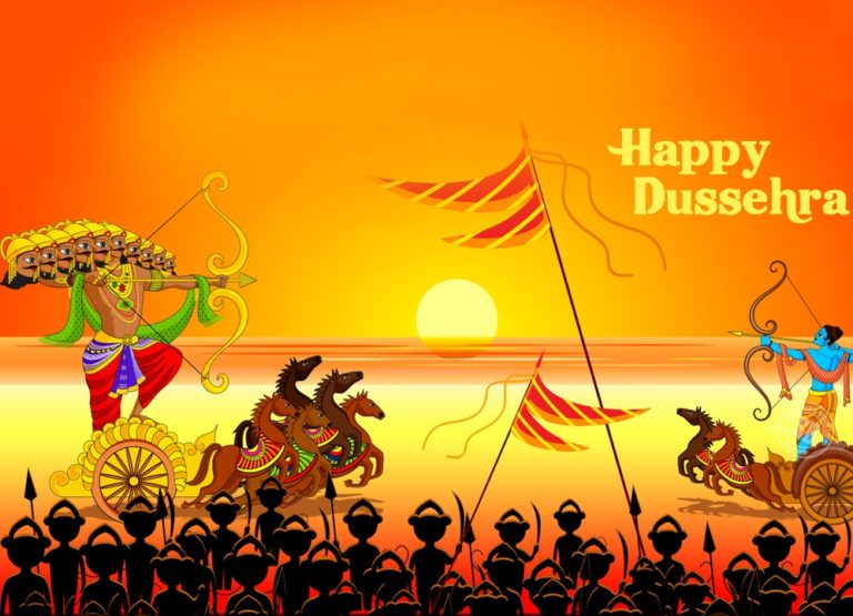 Happy Vijayadashami, Dussehra 2018 HD images for Facebook and Whatsapp {updated}