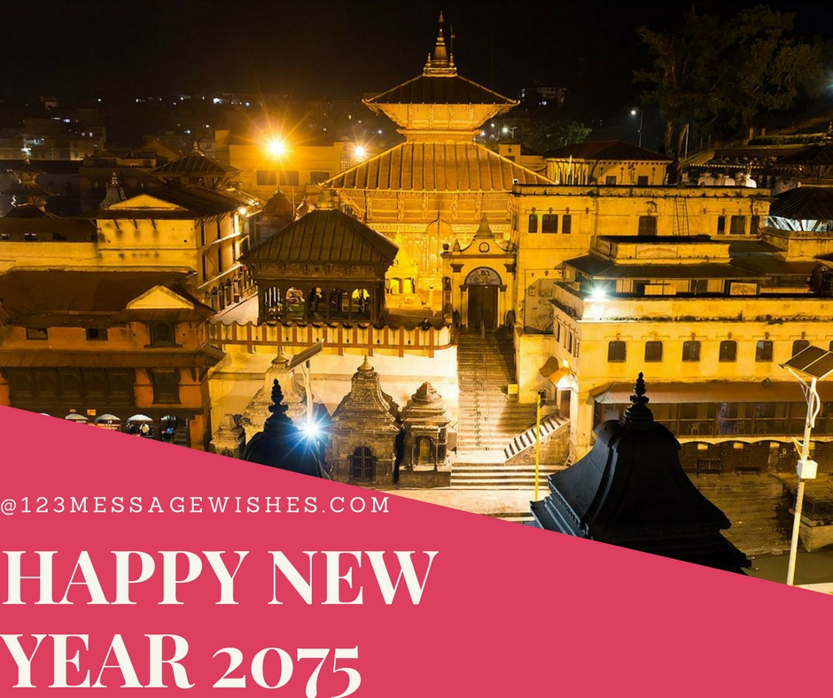 Happy New year 2075 messages and wishes nepal - 123Message